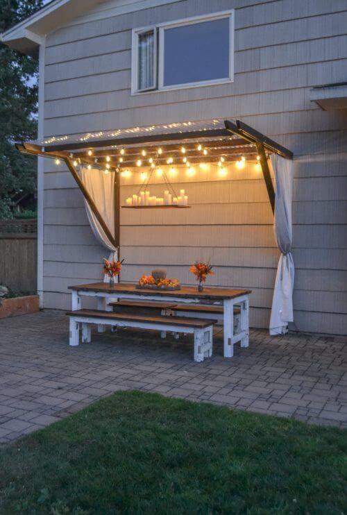 Backyard Projects: 15 Amazing DIY Outdoor Decor Ideas ... on Diy Small Patio Ideas id=73271