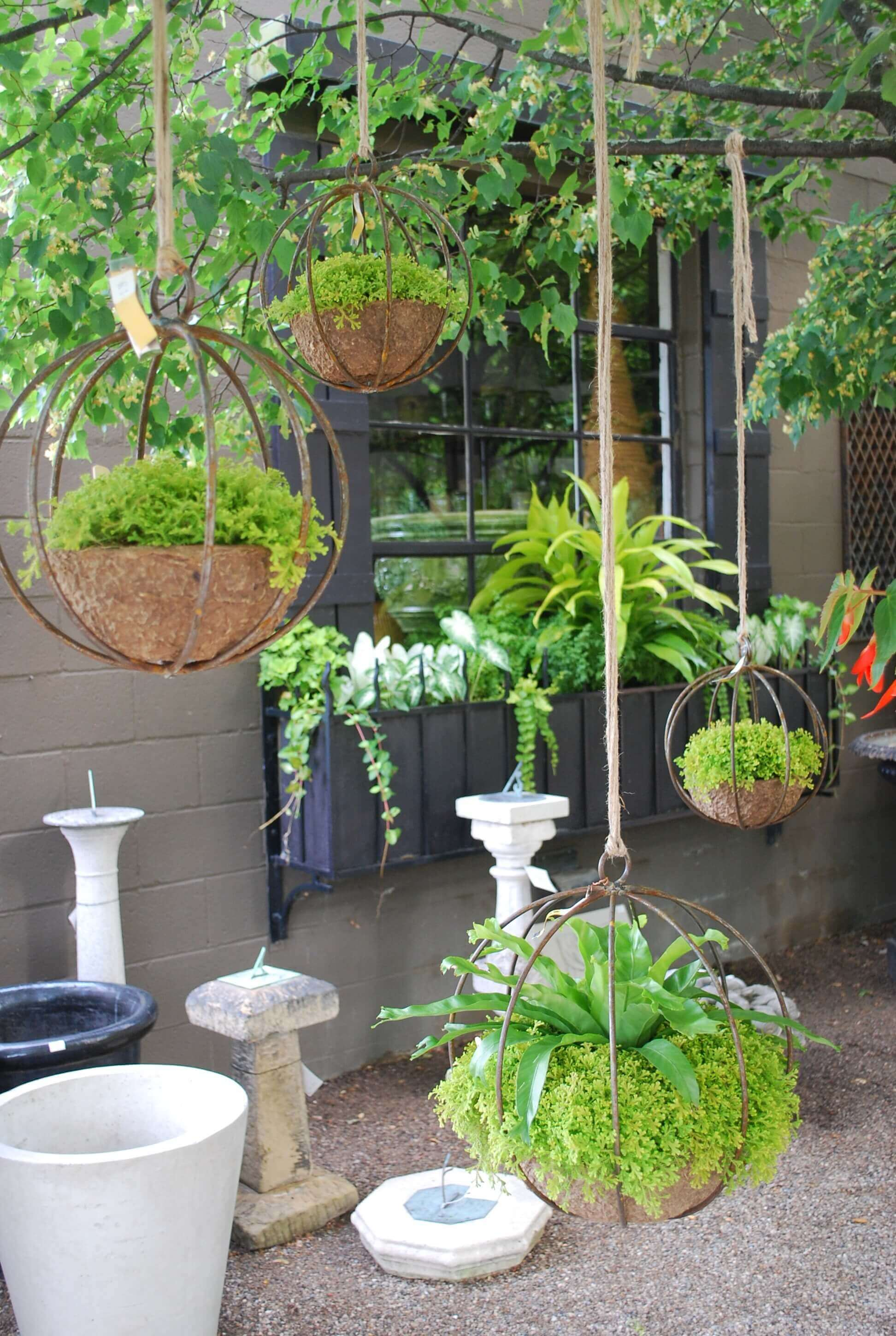 45 Best Outdoor Hanging Planter Ideas and Designs for 2020 on Hanging Plant Stand Ideas  id=61145