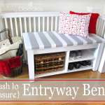 25 Best Diy Entryway Bench Projects Ideas And Designs For 2021