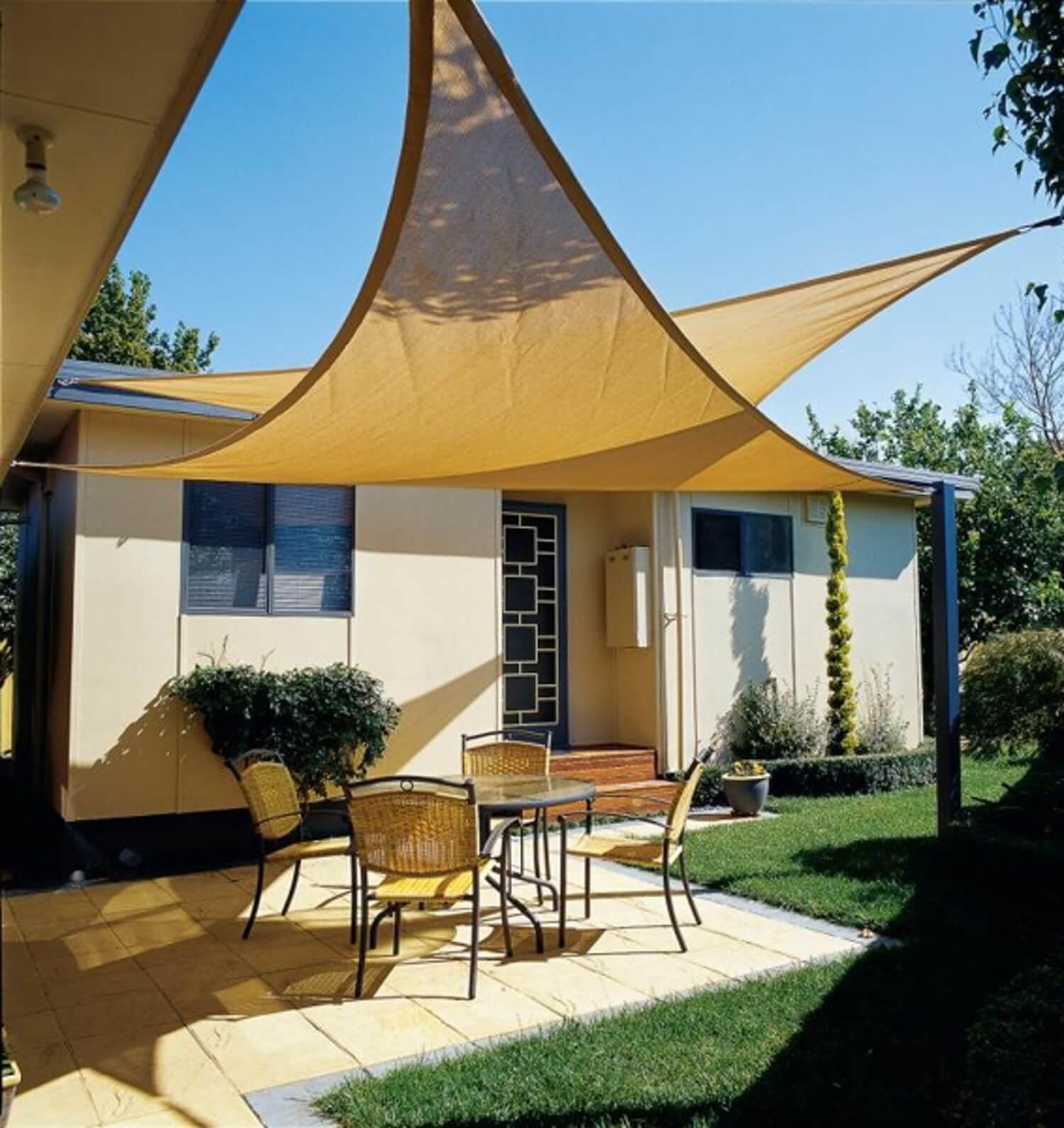 22 Best DIY Sun Shade Ideas and Designs for 2020 on Shady Yard Ideas id=45900