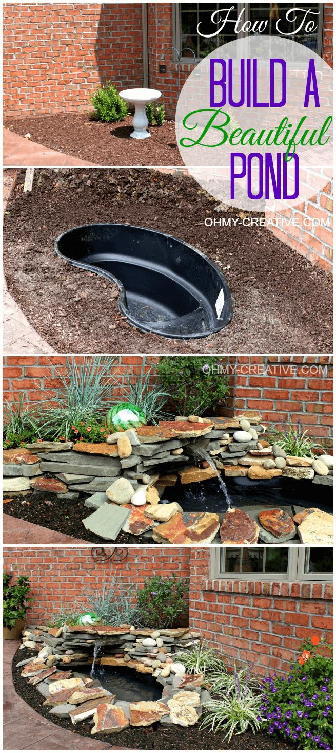 18 Best DIY Backyard Pond Ideas and Designs for 2020 on Pond Ideas Backyard id=92021