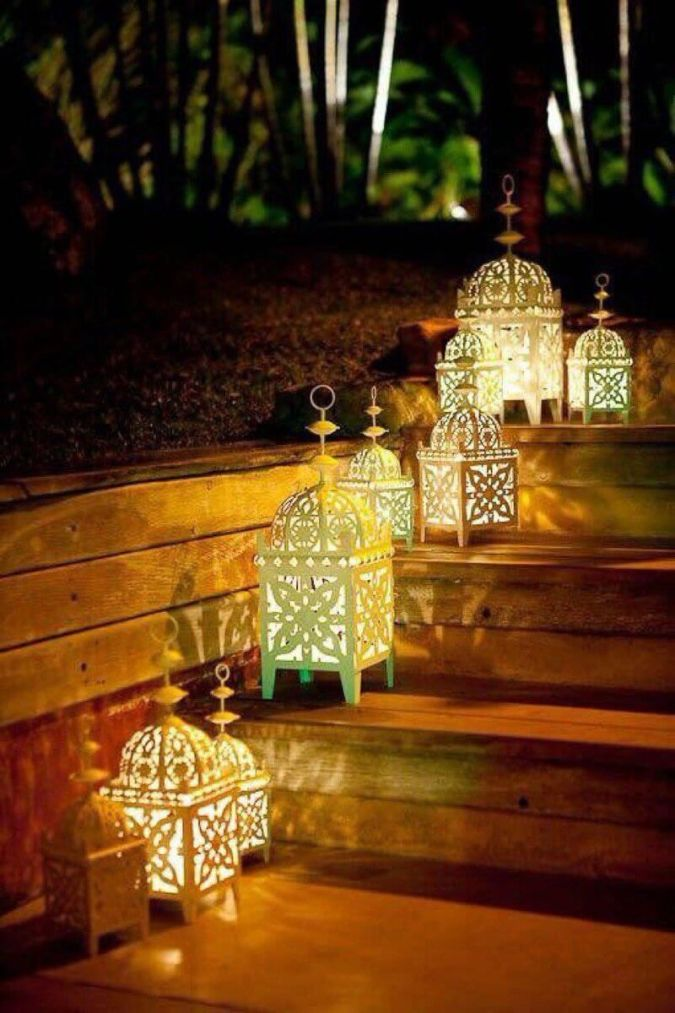 Stunning Lanterns with Intricate Patterns to Light the Way