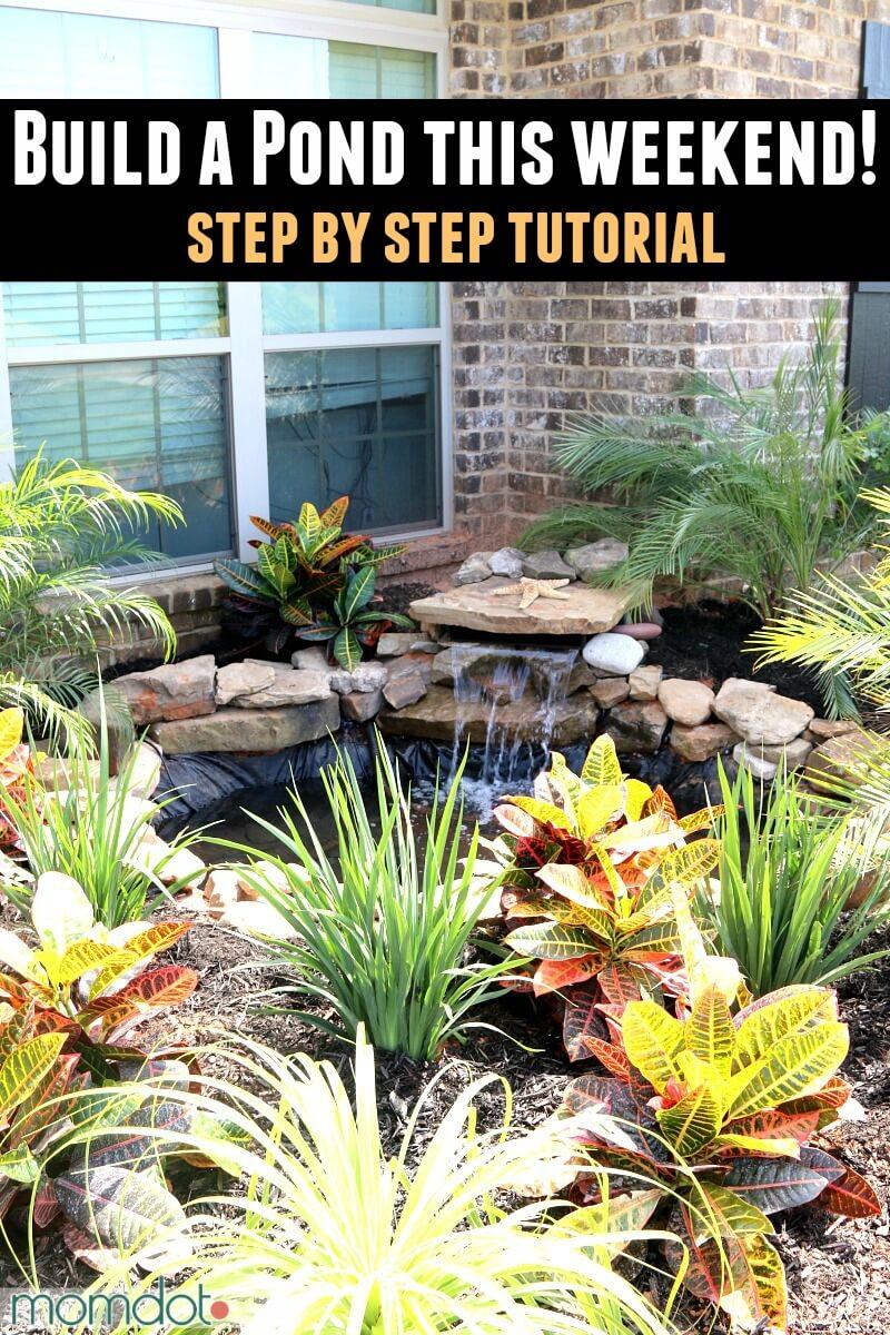 18 Best DIY Backyard Pond Ideas and Designs for 2020 on Pond Ideas Backyard id=31482