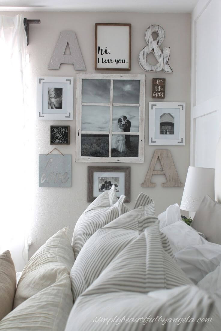 39 Best Farmhouse Bedroom Design and Decor Ideas for 2019 on Bedroom Farmhouse Decor  id=14230