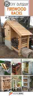 15 Best Diy Outdoor Firewood Rack Ideas And Desigs For 2020
