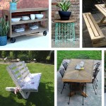 45 Best Diy Outdoor Furniture Projects Ideas And Designs For 2020