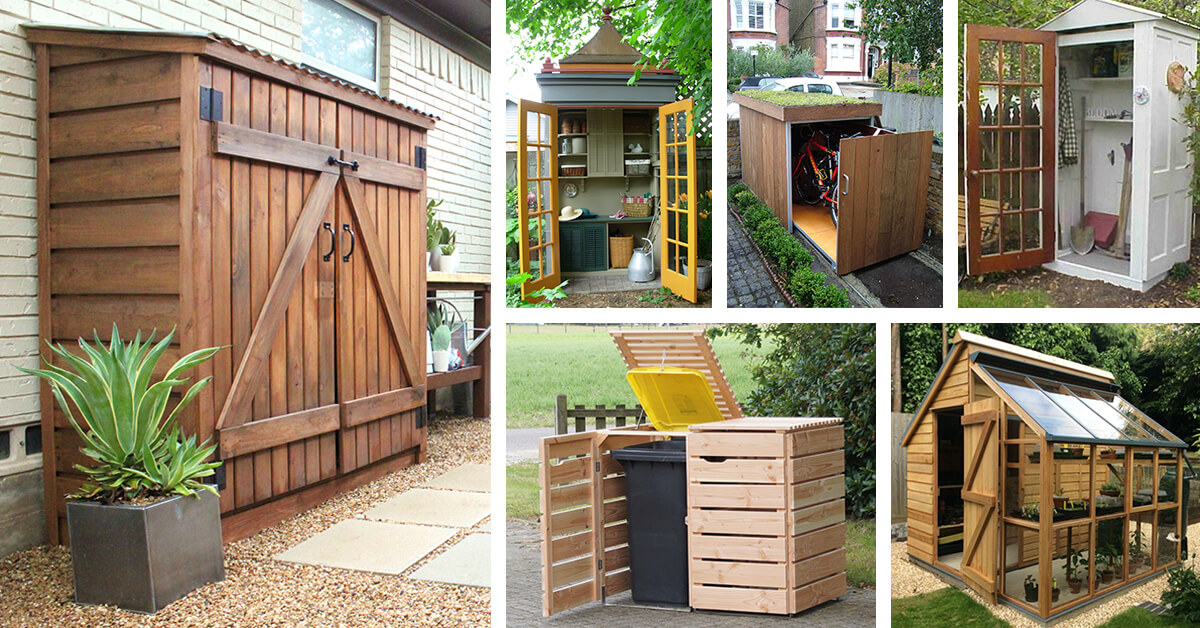 27 Best Small Storage Shed Projects Ideas And Designs For 2020