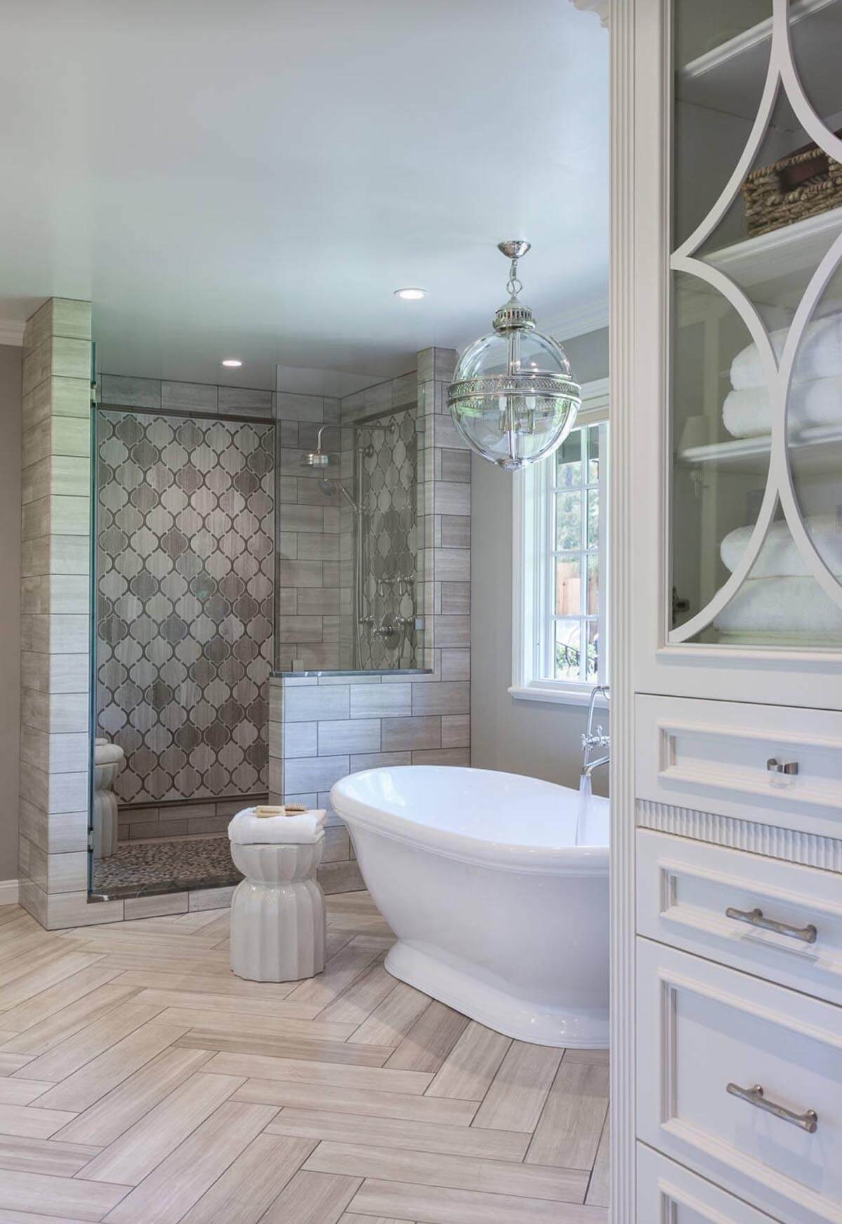 Best Kitchen Gallery: 32 Best Shower Tile Ideas And Designs For 2018 of Bathroom Tile Designs For Showers  on rachelxblog.com