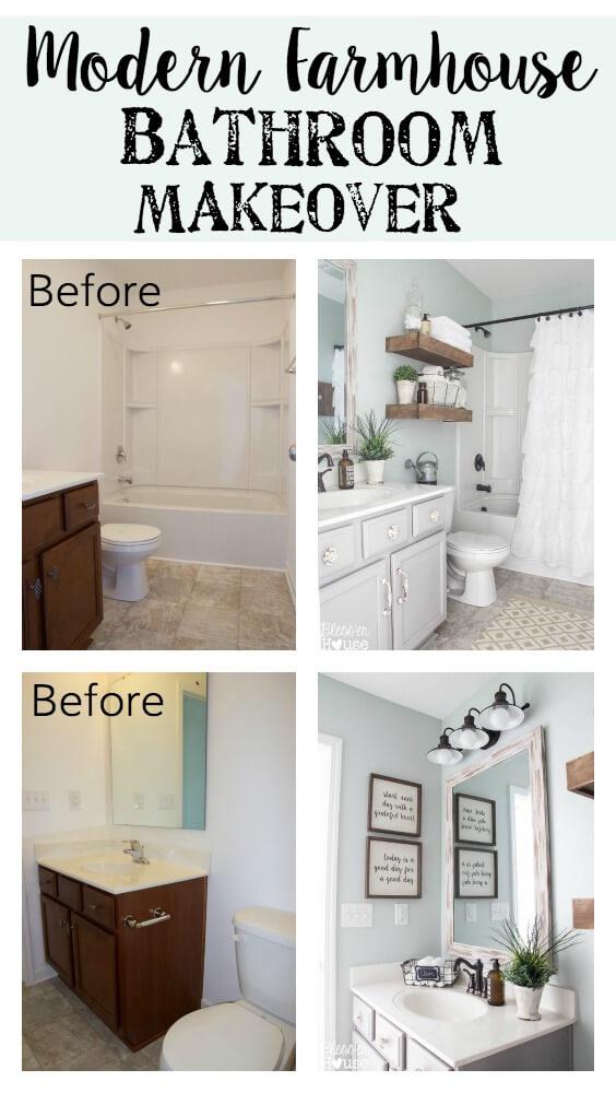 28 Best Budget Friendly Bathroom Makeover Ideas and ... on Bathroom Ideas On A Budget  id=80944