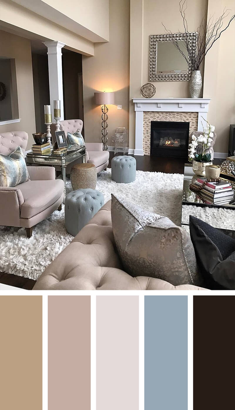 11 Best Living Room Color Scheme Ideas And Designs For 2021