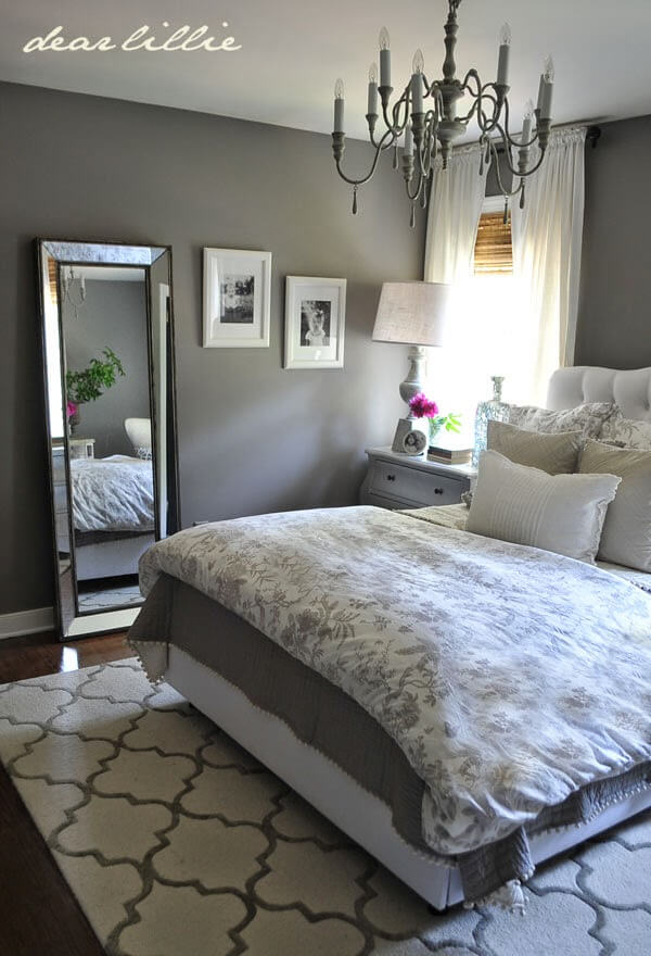 23 Best Grey Bedroom Ideas and Designs for 2020 on Teenage Grey Small Bedroom Ideas  id=39200