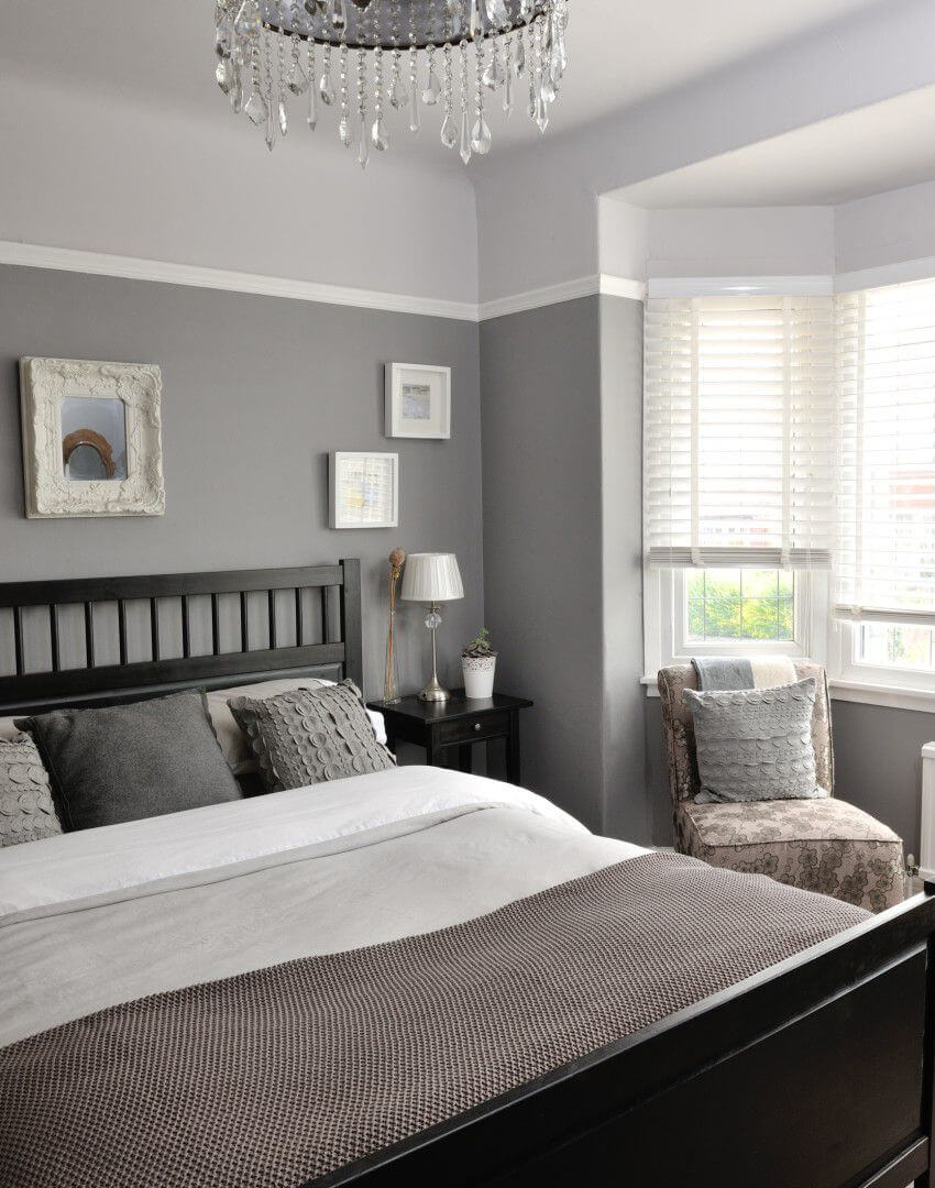 23 Best Grey Bedroom Ideas and Designs for 2020 on Bedroom Decor  id=32740