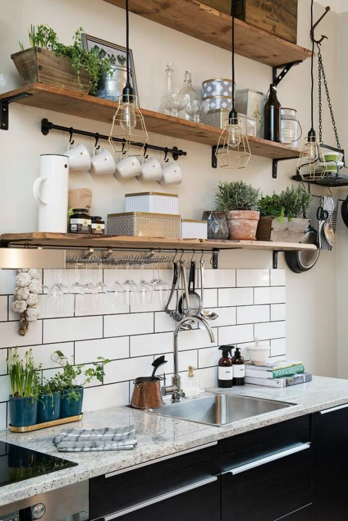 23 Best Cottage Kitchen Decorating Ideas and Designs for 2020 on Kitchen Decoration Ideas  id=80909