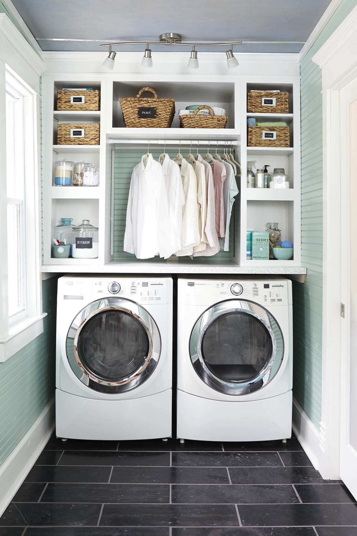 28 best small laundry room design ideas for 2020 on best laundry room designs id=25137