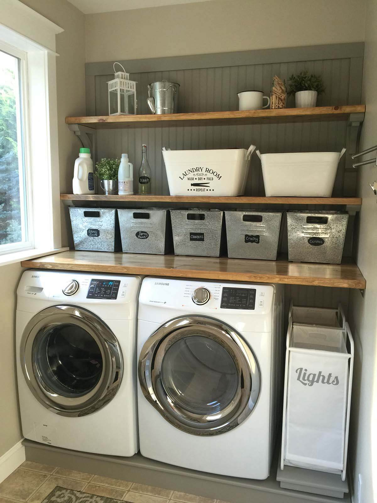 28 best small laundry room design ideas for 2020 on best laundry room designs id=51826