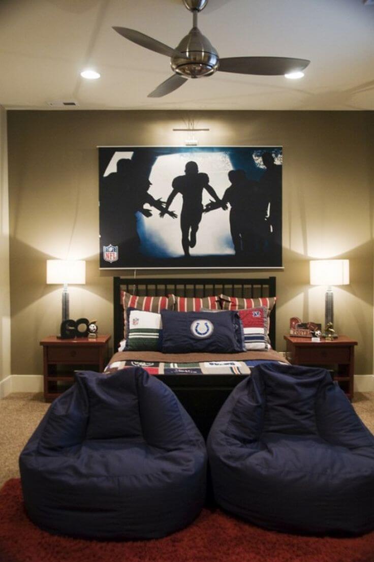 33 Best Teenage Boy Room Decor Ideas and Designs for 2020 on Teenage Room Ideas Boy  id=23206