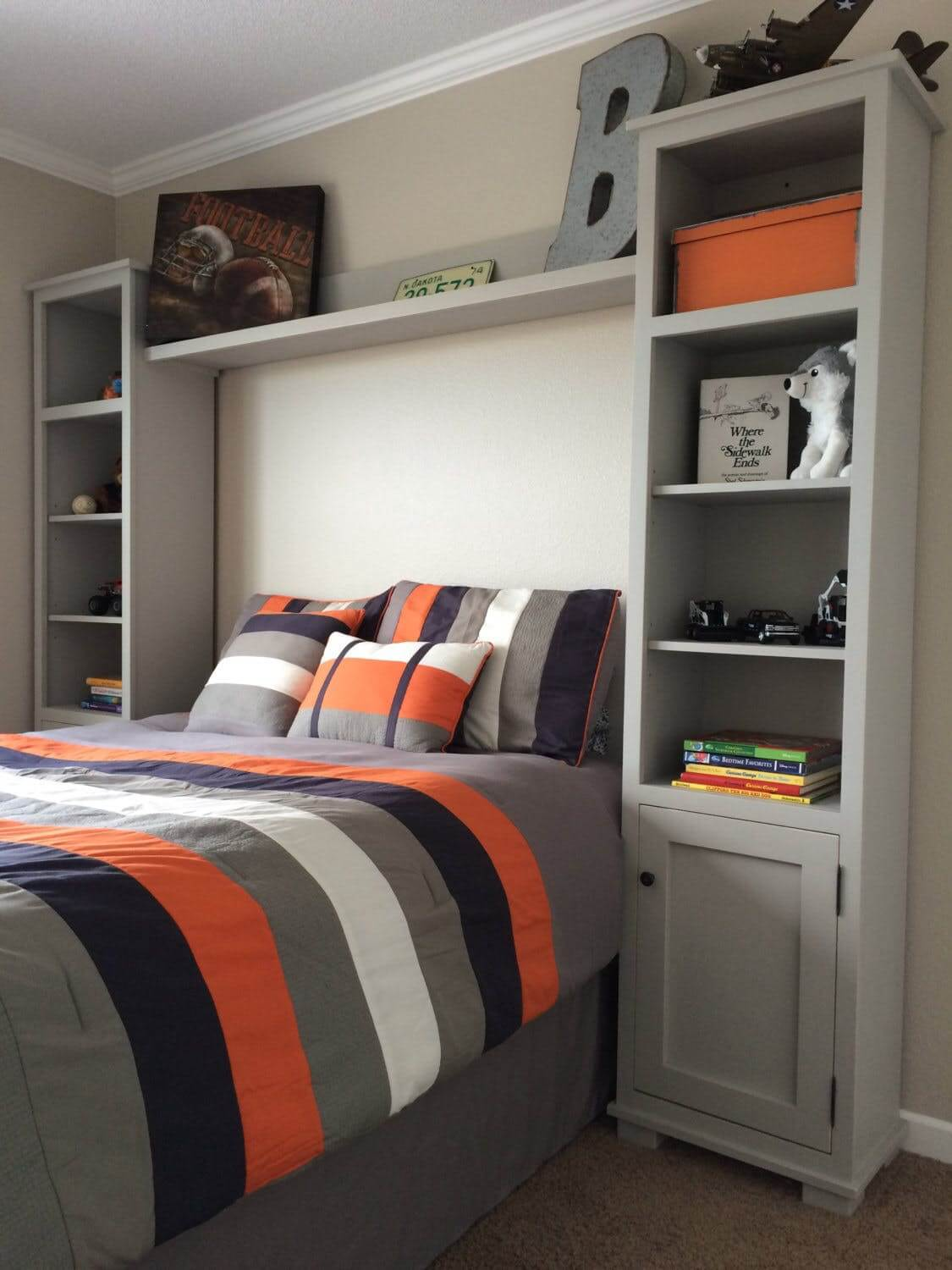 33 Best Teenage Boy Room Decor Ideas and Designs for 2020 on Small Bedroom Ideas For Teenage Guys  id=90085