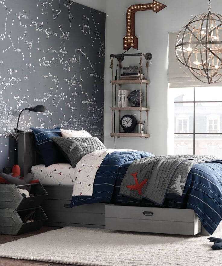 33 Best Teenage Boy Room Decor Ideas and Designs for 2020 on Teenage Boy Room  id=12946