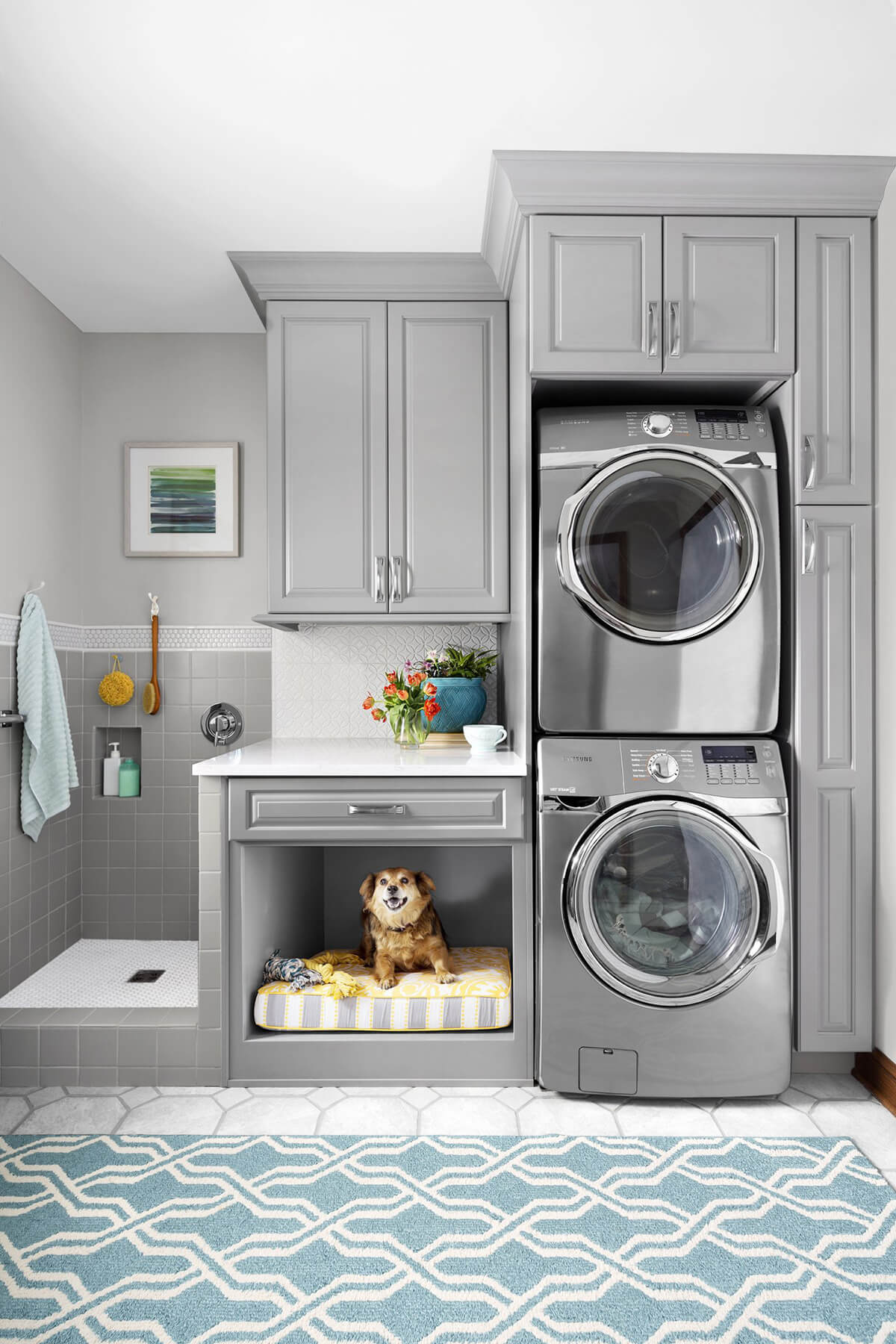 28 Best Small Laundry Room Design Ideas for 2020 on Laundry Decoration  id=85210