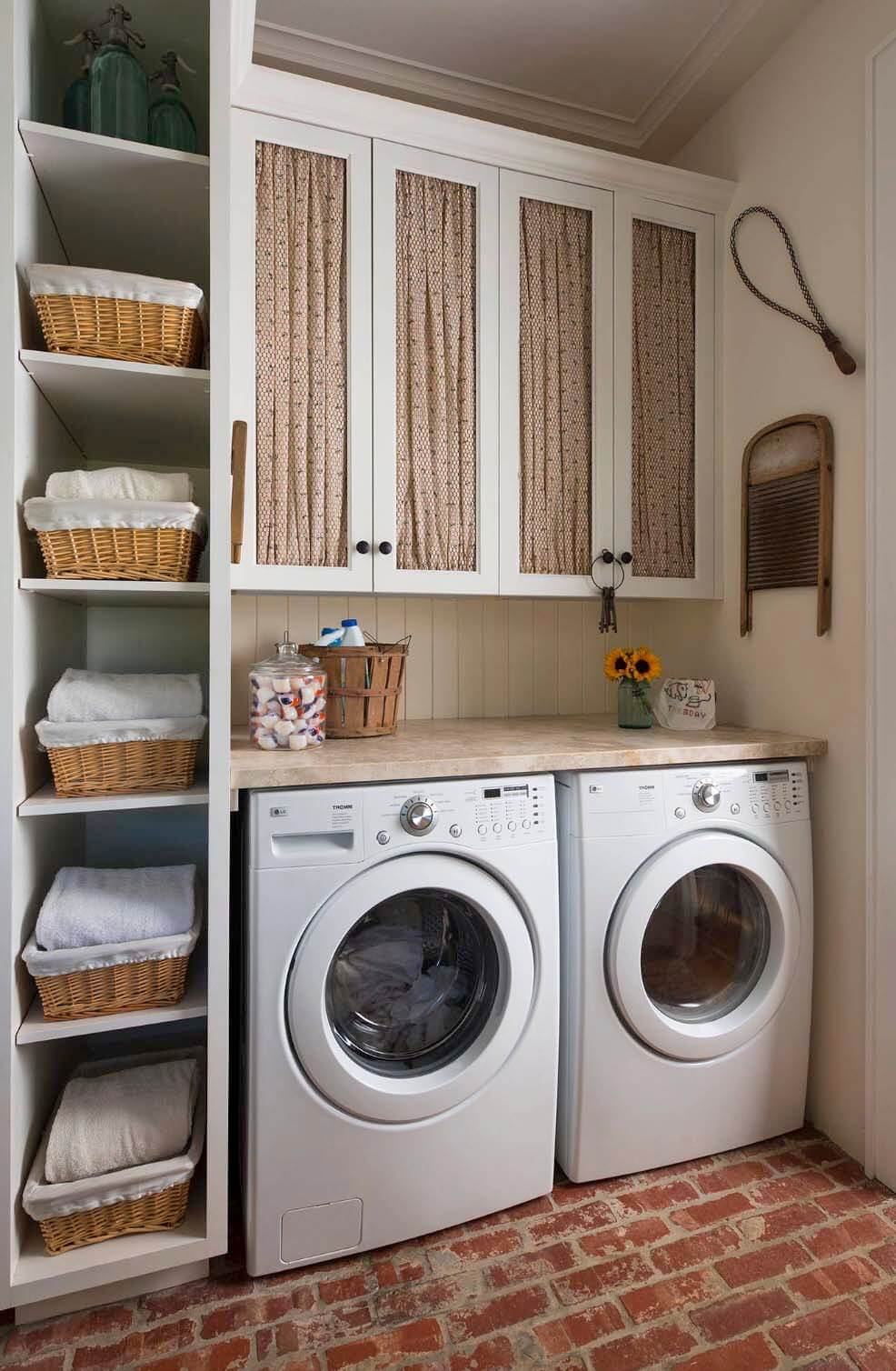 28 Best Small Laundry Room Design Ideas for 2020 on Laundry Room Decor Ideas  id=31769