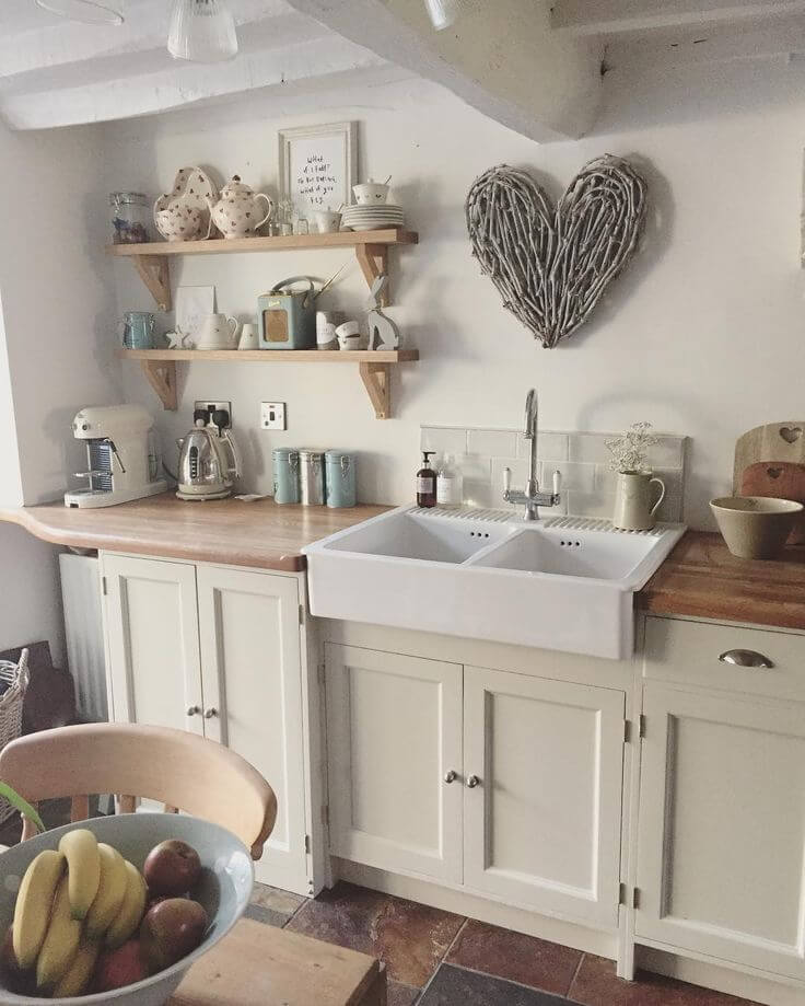 23 Best Cottage Kitchen Decorating Ideas and Designs for 2020 on Kitchen Decoration Ideas  id=43766