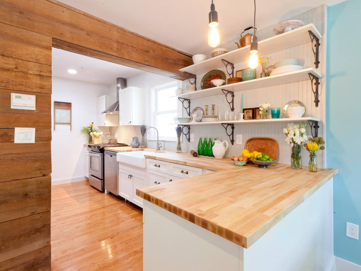 23 Best Cottage Kitchen Decorating Ideas and Designs for 2020 on Kitchen Decoration Ideas  id=27253