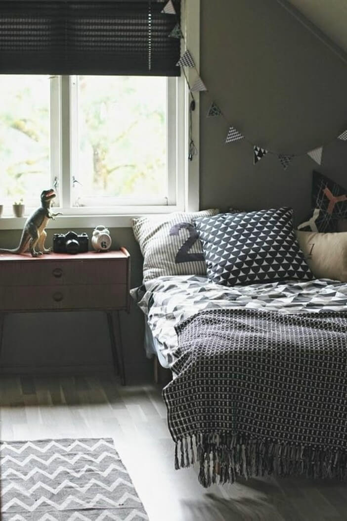 Whether your teenage boy's room has a hardwood floor or carpeting, rugs are a smart way to add a dose of color, establish zones and add an extra layer of comfort. 33 Best Teenage Boy Room Decor Ideas and Designs for 2021