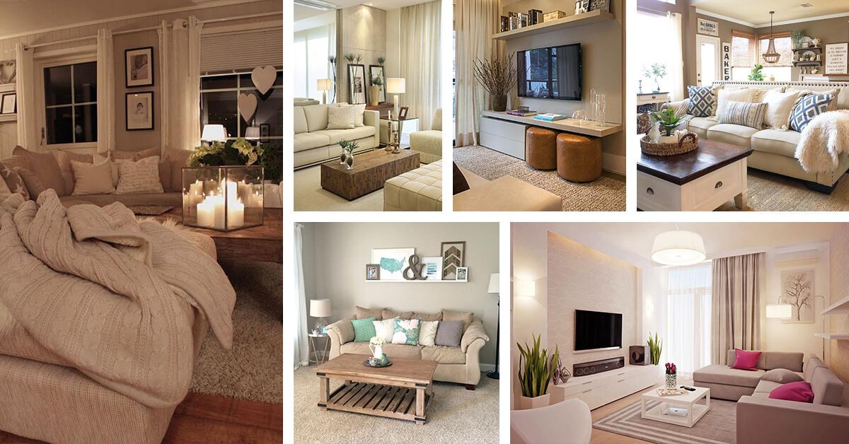23 Best Beige Living Room Design Ideas for 2020 on Living Room Design Ideas  id=27395