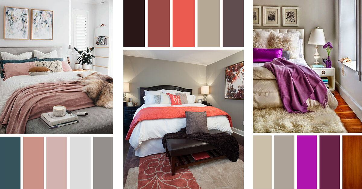 Top Innovative Bedroom Colour Scheme Multitude 4461 Wtsenates