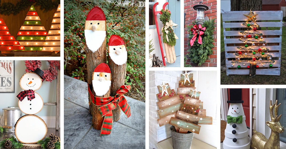 50 Best Christmas Diy Outdoor Decor Ideas And Designs For 2020