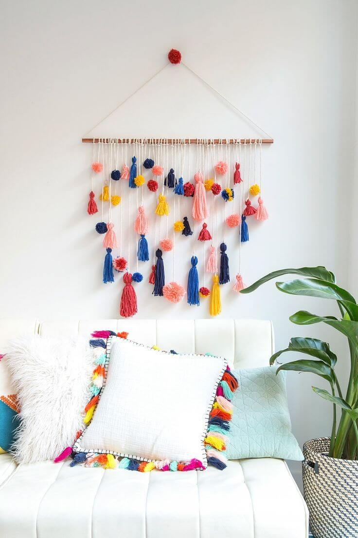 37 Best DIY Wall Hanging Ideas and Designs for 2020 on Picture Hanging Idea  id=64763