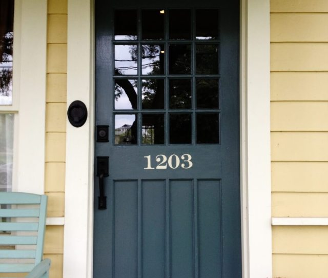 Sailor Blue Front Door Idea