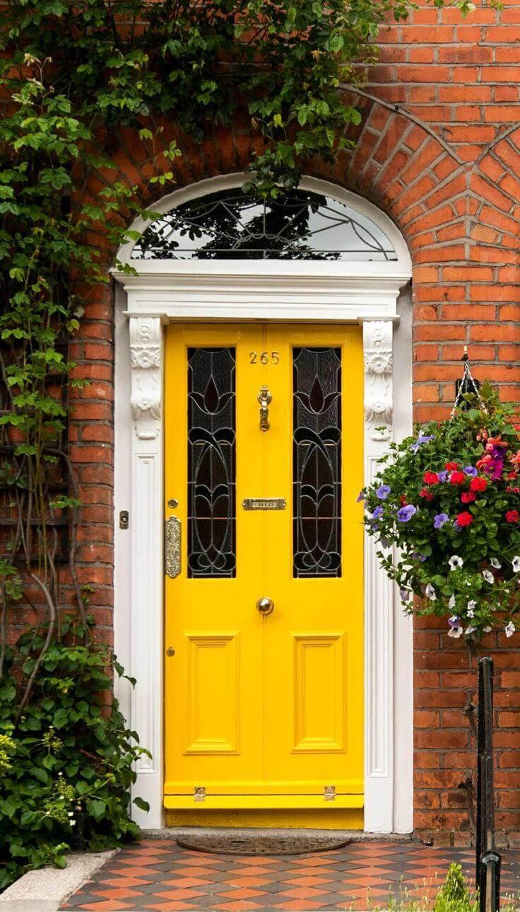30 Best Front Door Color Ideas and Designs for 2020 on Door Color Ideas  id=24592