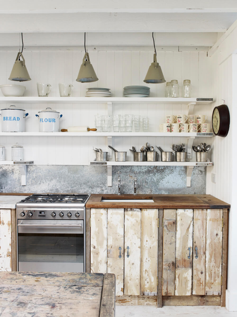 35 Best Farmhouse Kitchen Cabinet Ideas and Designs for 2020 on Farmhouse Rustic Kitchen Ideas  id=73340