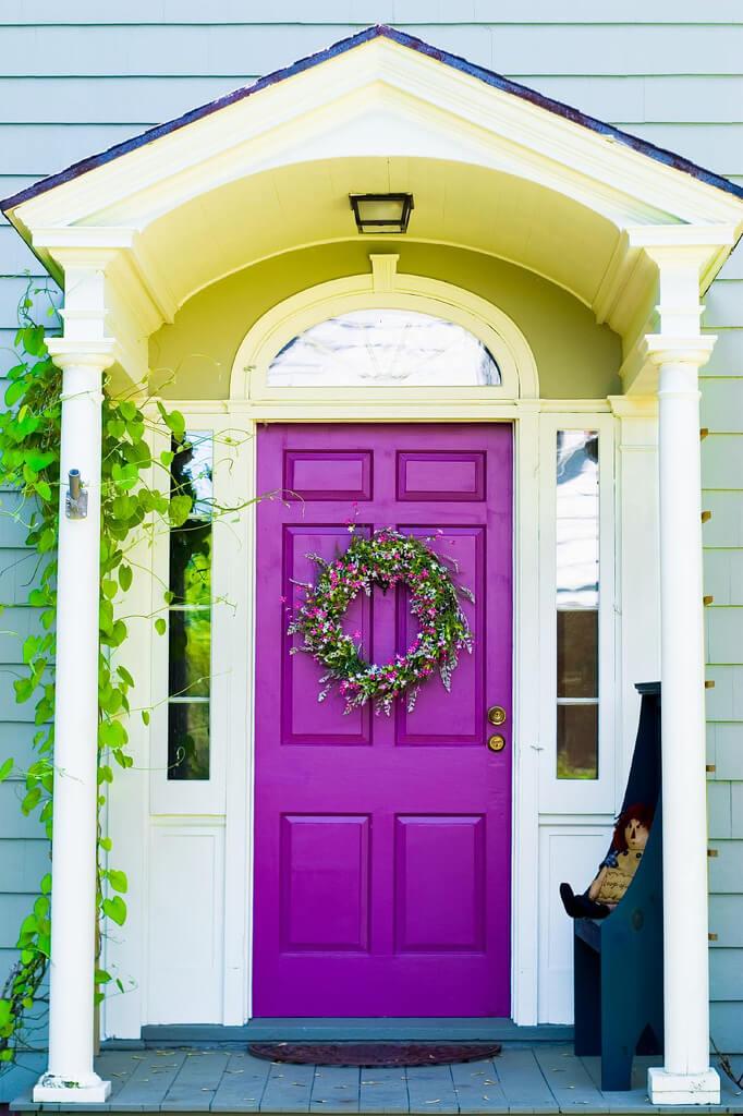30 Best Front Door Color Ideas and Designs for 2020 on Door Color Ideas  id=84763
