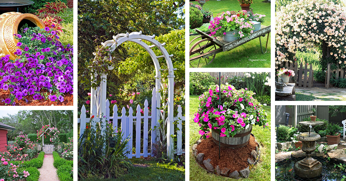 45+ Best Cottage Style Garden Ideas and Designs for 2020 on Cottage Yard Ideas id=99430
