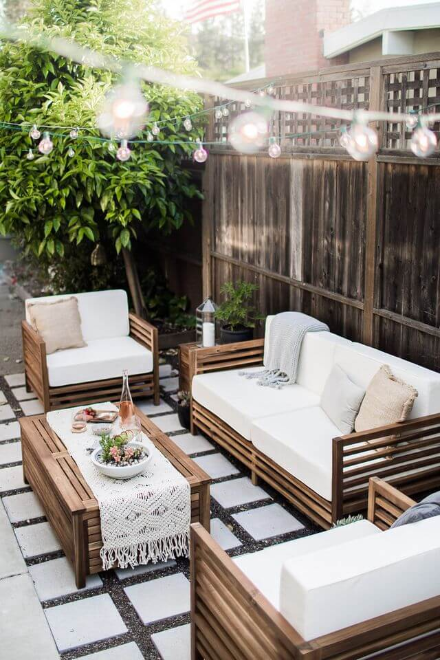 33 Best Outdoor Living Space Ideas and Designs for 2020 on Living Spaces Outdoor Sectional id=97619