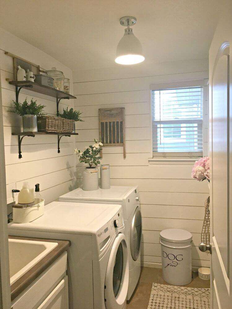 60 Best Farmhouse Laundry Room Decor Ideas and Designs for ... on Laundry Decoration  id=95151