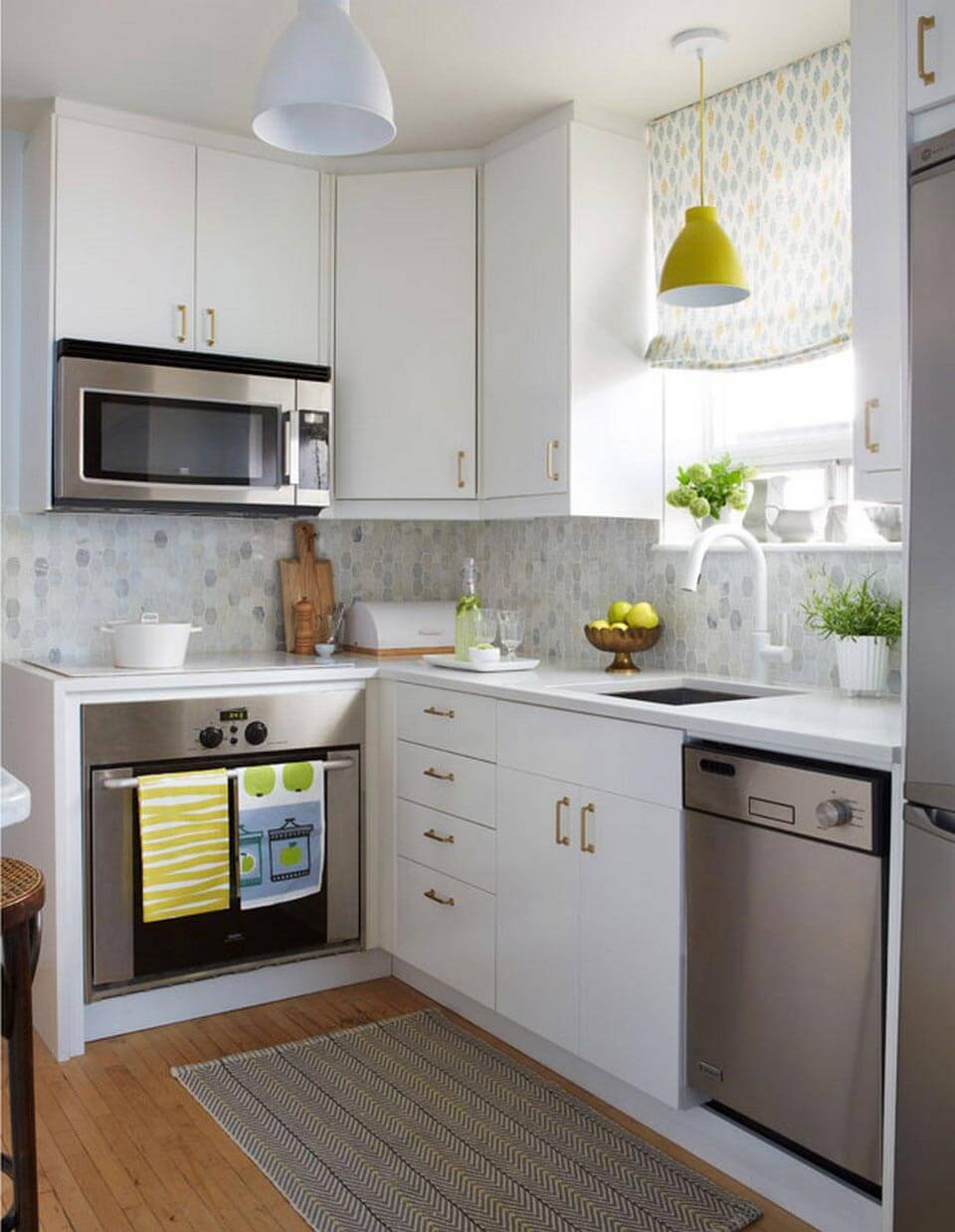 30 Best Small Kitchen Decor and Design Ideas for 2020 on Kitchen Decoration Ideas  id=67674