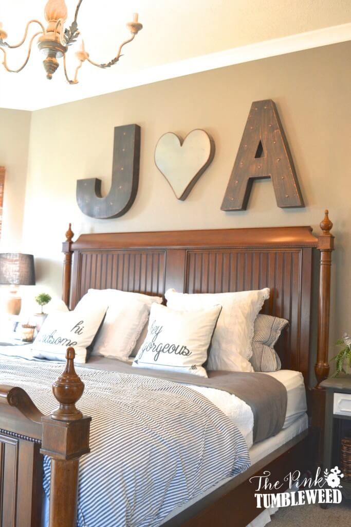 25+ Best Bedroom Wall Decor Ideas and Designs for 2020 on Bedroom Wall Decor  id=26267