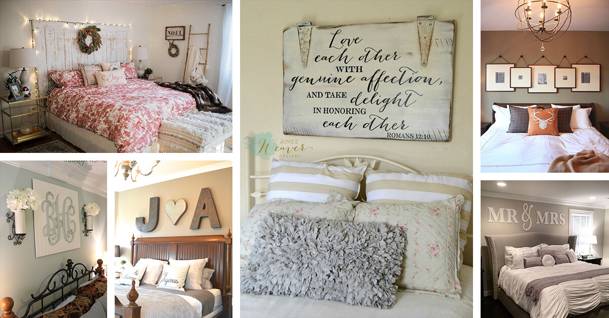 25+ Best Bedroom Wall Decor Ideas and Designs for 2020 on Bedroom Wall Decor  id=14832