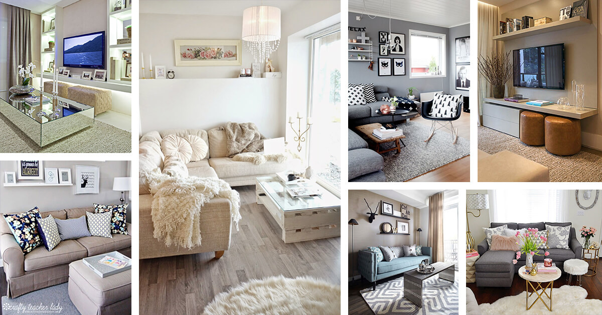 25+ Best Small Living Room Decor and Design Ideas for 2020 on Small Living Room Ideas 2019  id=36782