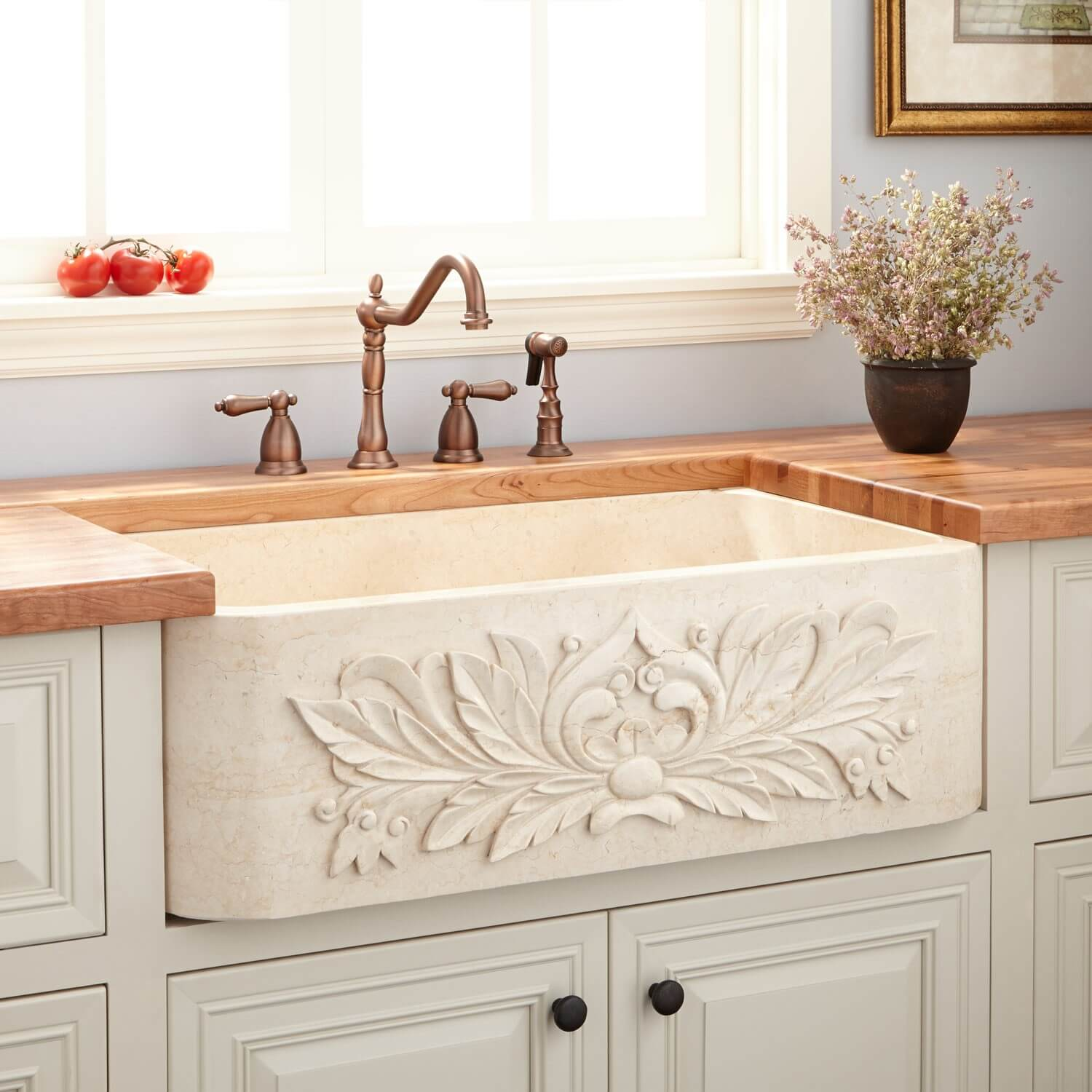 26 Farmhouse Kitchen Sink Ideas and Designs for 2020 on Farmhouse Kitchen Sink Ideas  id=46319