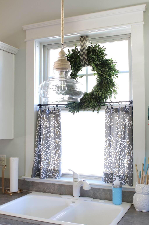 26 Best Farmhouse Window Treatment Ideas and Designs for 2020 on Farmhouse Dining Room Curtain Ideas  id=64305