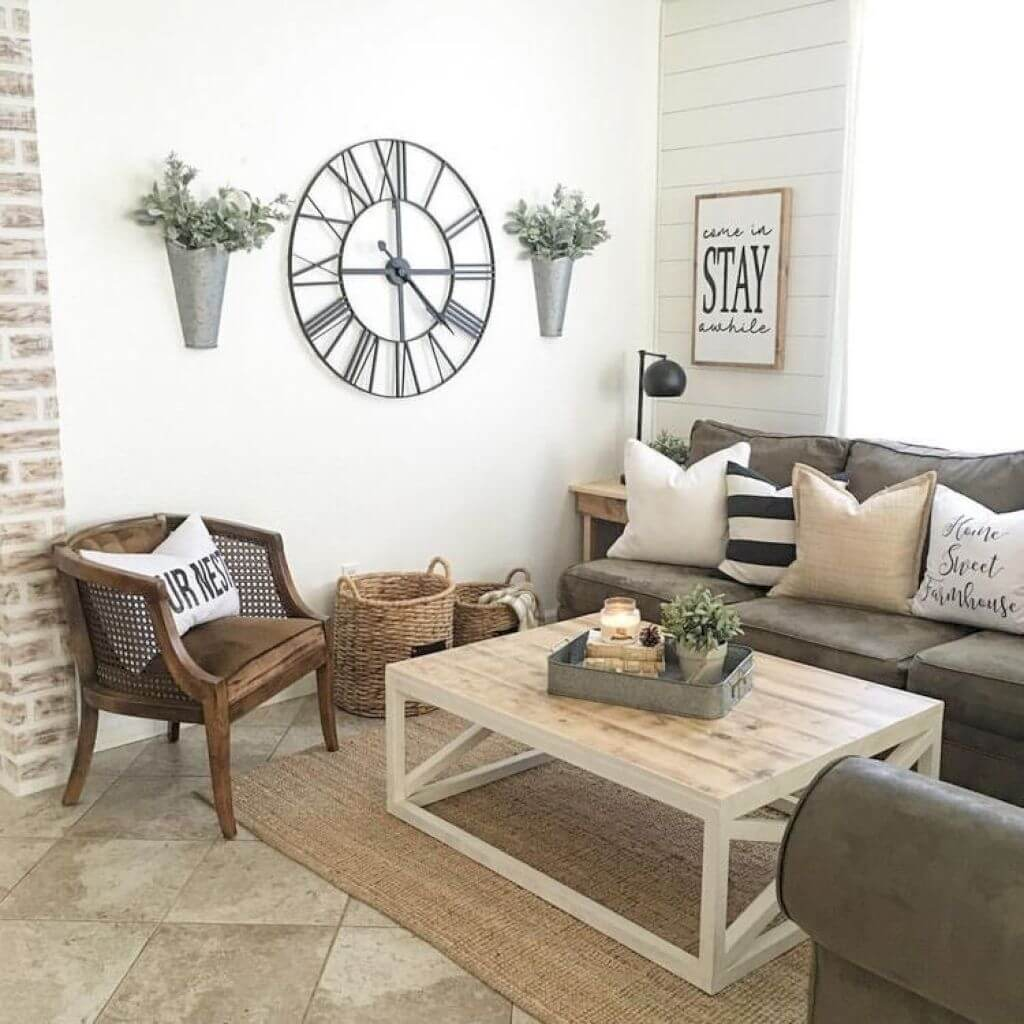 33 Best Rustic Living Room Wall Decor Ideas and Designs ... on Best Sconces For Living Rooms Near Me id=35059
