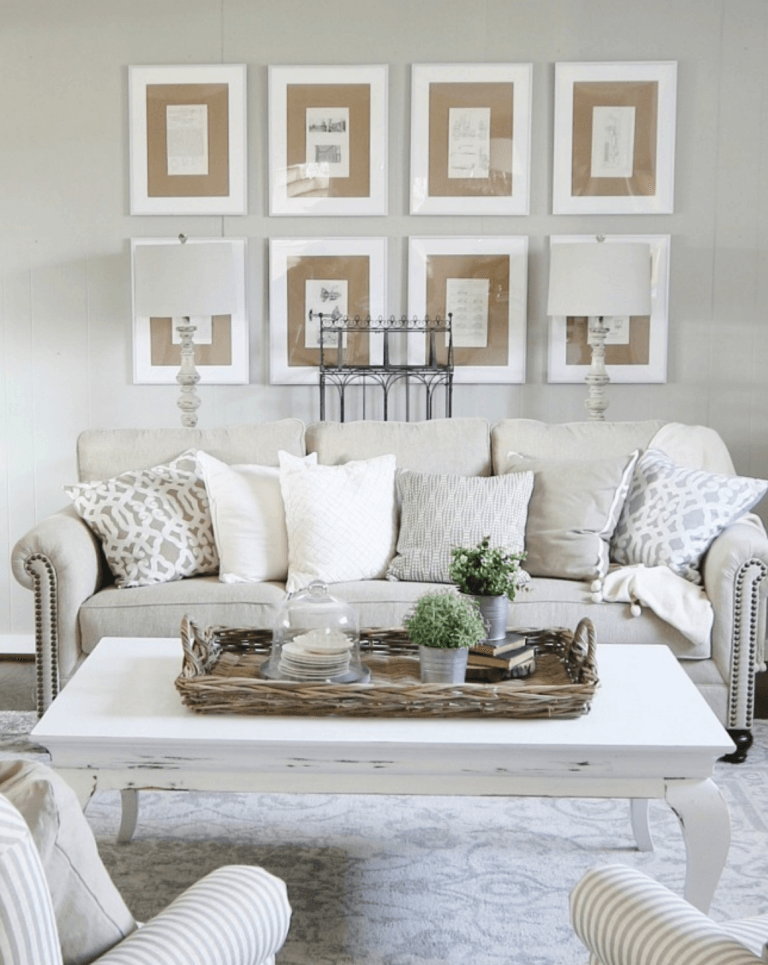 33 Best Rustic Living Room Wall Decor Ideas and Designs ... on Wall Decoration Ideas  id=96413