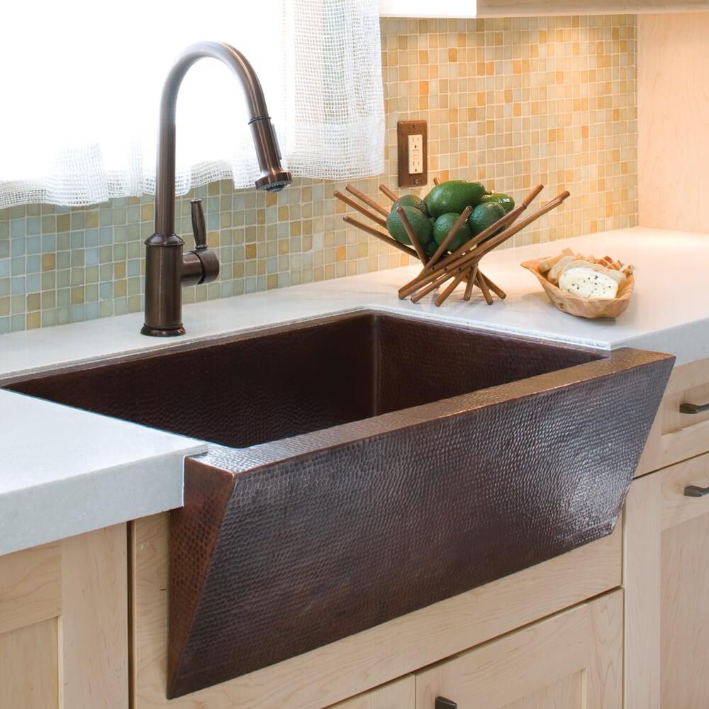 26 Farmhouse Kitchen Sink Ideas and Designs for 2020 on Kitchen Sink Ideas  id=73029