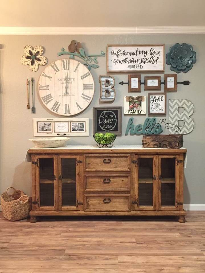 33 Best Rustic Living Room Wall Decor Ideas and Designs ... on Room Wall Decor id=78777
