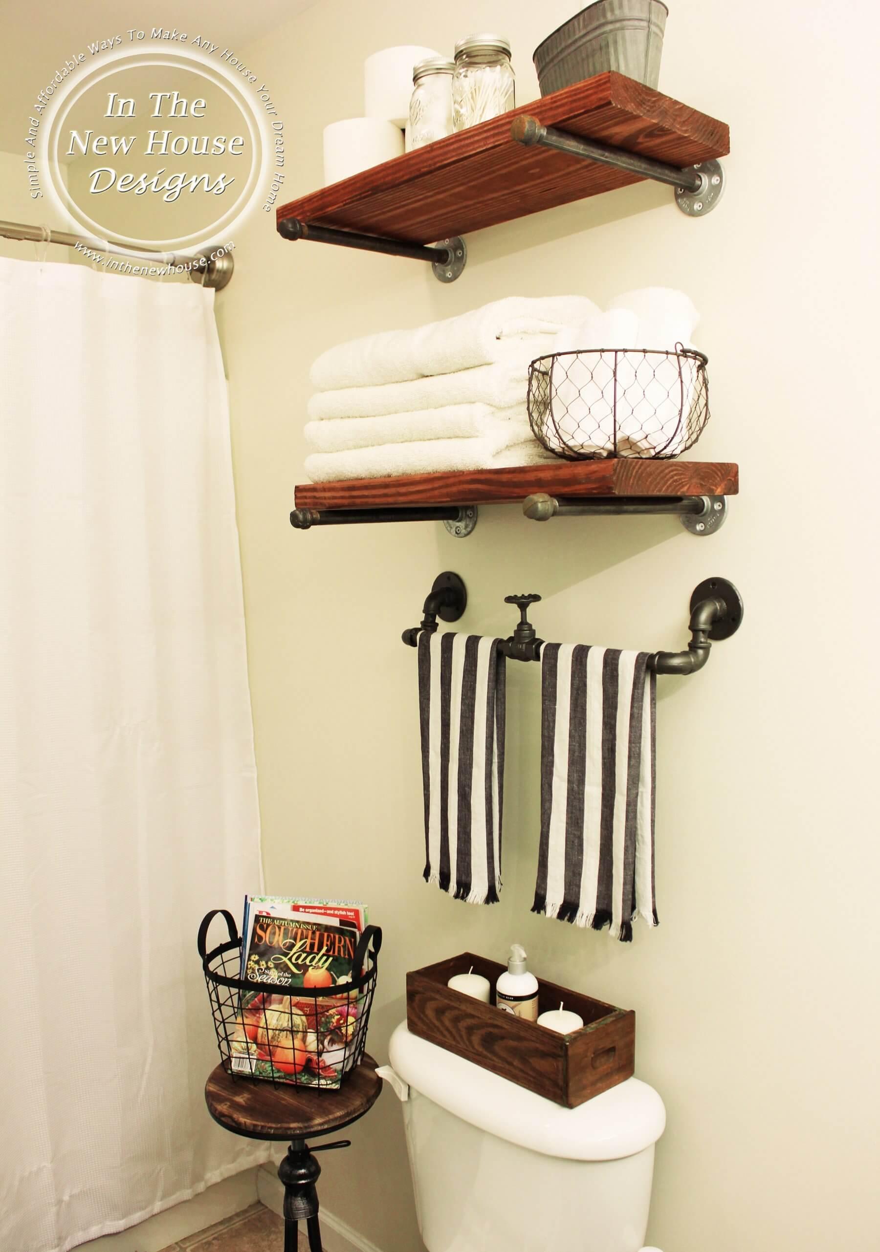 42 Best Diy Bathroom Storage And Organizing Ideas For 2020