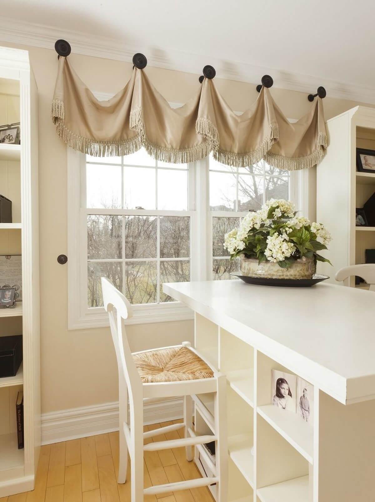 26 Best Farmhouse Window Treatment Ideas and Designs for 2020 on Farmhouse Curtain Ideas  id=95741